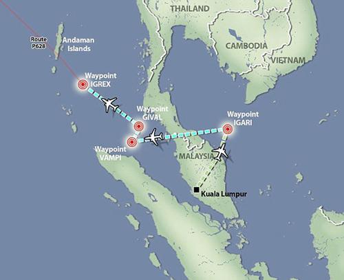 MH370 núp bóng máy bay khác để né radar? - 3