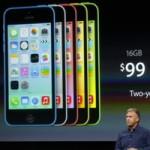 Apple bất ngờ tung iPhone 5C bản 8GB