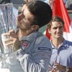 Thể thao - Tin HOT trưa 18/3: Federer thua Djokovic vì gió
