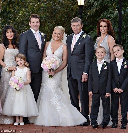 Em gái Britney Spears khoe ảnh cưới đẹp ngất ngây - 4
