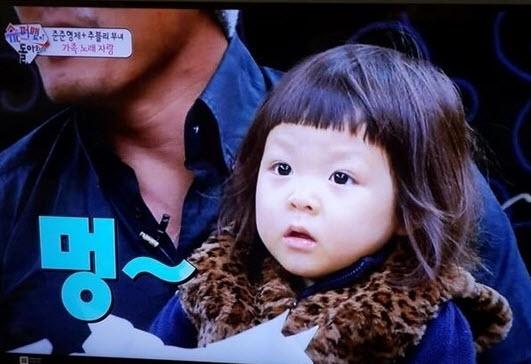 Cô bé 3 tuổi gây sốt màn ảnh Hàn - 3