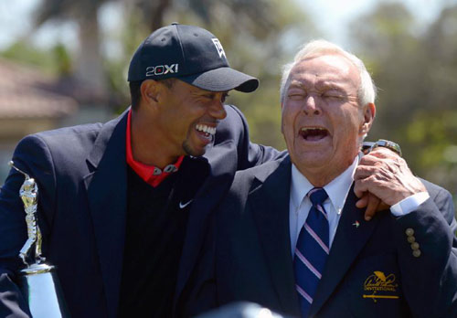 Chấn thương, Tiger Woods lỡ giải Bay Hill - 1