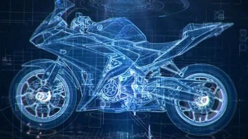 Yamaha R25 lộ động cơ, ra mắt trong tuần sau - 1