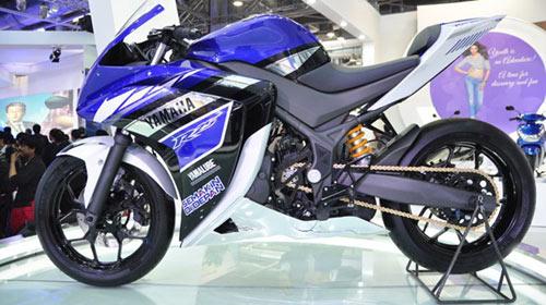 Yamaha R25 lộ động cơ, ra mắt trong tuần sau - 4