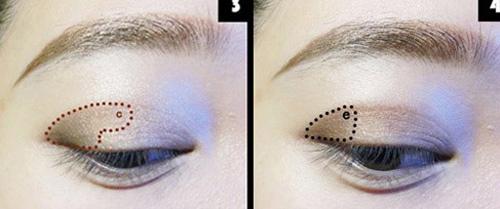 Đôi mắt đẹp với tông màu nude - 2