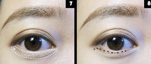 Đôi mắt đẹp với tông màu nude - 4