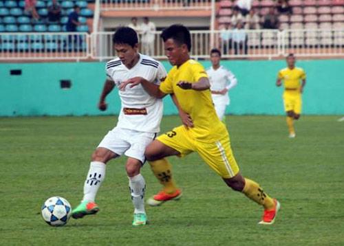 Chung kết giải U19: SLNA đấu Hà Nội.T&T - 1