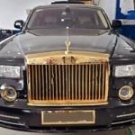 Ô tô - Xe máy - Rolls-Royce Phantom độ vàng 24k ở Hà Nội