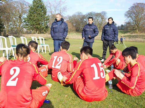 U19 Việt Nam thiếu thủ lĩnh - 1