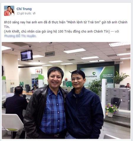 Chánh Tín: Đại gia nào giúp tôi quỳ lạy luôn - 3
