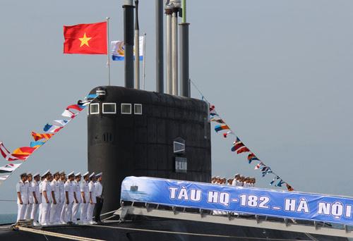 Bắt đầu hạ thủy tàu ngầm Kilo TP Hồ Chí Minh - 3