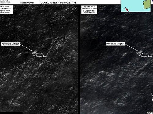 Vụ MH370: Úc phát hiện mảnh vỡ dài 24m trên biển - 3