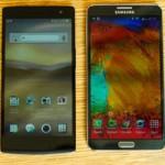 Oppo Find 7 vs Galaxy Note 3: Kẻ tám lạng, người nửa cân