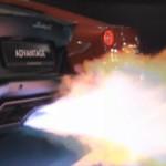 Ô tô - Xe máy - Video: Lamborghini Aventador khạc lửa dữ dội