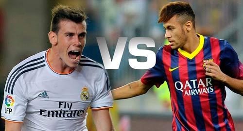 "El Clasico: Ronaldo-Bale ""át"" Messi-Neymar - 2"