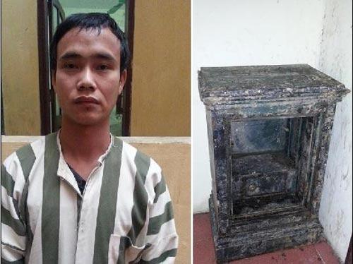 Trộm két sắt từ Hà Nội, mang về quê phá lấy vàng - 1