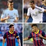 "Bóng đá - El Clasico: Ronaldo-Bale ""át"" Messi-Neymar"