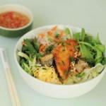Ẩm thực - Bún chả giò cá hồi thơm ngon bổ dưỡng