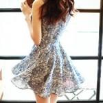Thời trang - Váy xòe cho cô nàng nữ tính và dễ tính
