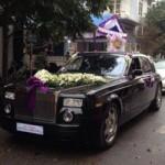 Ô tô - Xe máy - Rolls-Royce Phantom làm xe hoa tại Thái Bình