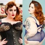 Làm đẹp - Vẻ đẹp thu hút của mỹ nhân siêu béo