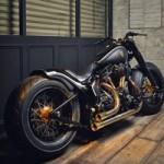 Ô tô - Xe máy - Harley Softail Slim độ cổ điển pha lẫn hiện đại