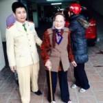 Tin tức trong ngày - HN: Cụ bà gần 100 tuổi đi lạc đã được con đón về