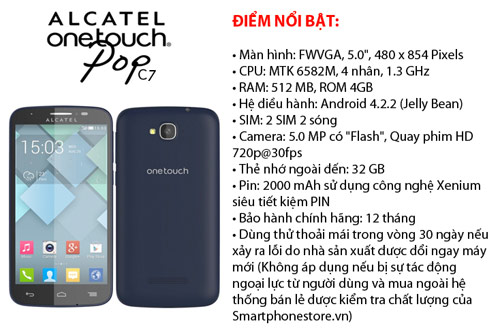 Bộ tứ android ALCATEL C9,C7,C5,C1 giá rẻ đáng mua - 2