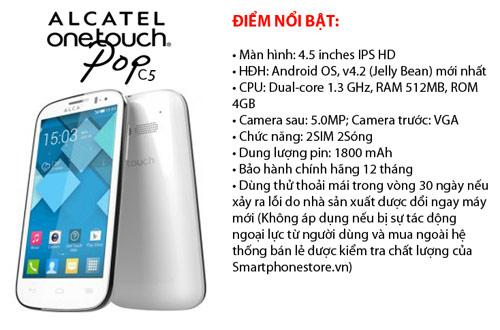 Bộ tứ android ALCATEL C9,C7,C5,C1 giá rẻ đáng mua - 3