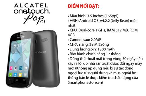 Bộ tứ android ALCATEL C9,C7,C5,C1 giá rẻ đáng mua - 4