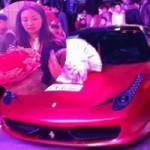 Ô tô - Xe máy - Dùng siêu xe Ferrari 458 cầu hôn bạn gái