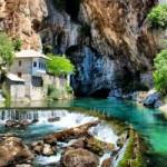 Du lịch - Thị trấn Blagaj bức tranh phong cảnh châu Âu