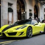 Ô tô - Xe máy - Samuel Eto'o khoe siêu xe Ferrari 458 độ hầm hố