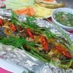 Ẩm thực - Cá chuối nướng giấy bạc thơm lừng