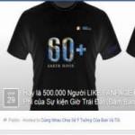 """Công nghệ thông tin - Trò lừa tặng áo """"Giờ Trái Đất"""" trên Facebook"""