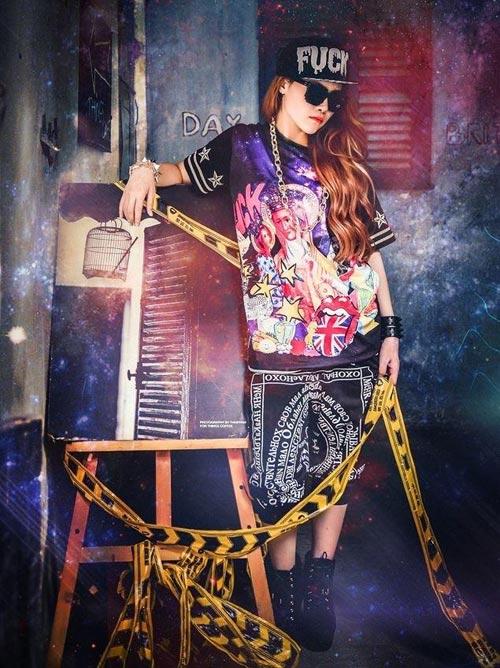 Diễm Hương The Voice phá cách hát nhạc 2NE1 - 4