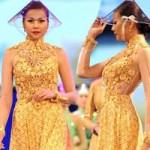 Thời trang - NTK Công Trí thổi hồn cho áo dài Việt