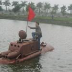 Tàu ngầm tự chế sẽ được chạy thử ngoài biển?