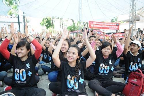 """Giờ Trái đất 2014: Giới trẻ Việt """"bắt nhịp"""" sống xanh"""