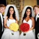 Phi thường - kỳ quặc - 9 đám cưới đặc biệt của những cặp song sinh