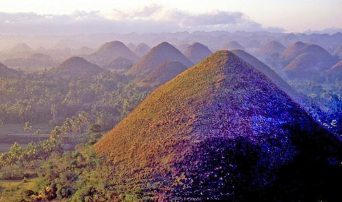 """Đẹp ngỡ ngàng ngọn đồi """"Sô-cô-la"""" ở Philippines - 7"""