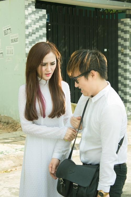 Trung Quân yêu thầm hot girl Kelly trong MV mới - 3