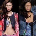 Thời trang - Sự cố phản cảm của người mẫu Trung Quốc