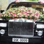 Ô tô - Xe máy - Rolls-Royce Phantom biển tứ quý 9 rước dâu tại Hà Nội