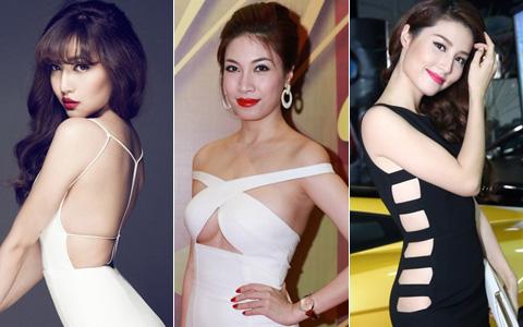 "5 kiểu mốt ""xâm lấn"" showbiz Việt năm qua"