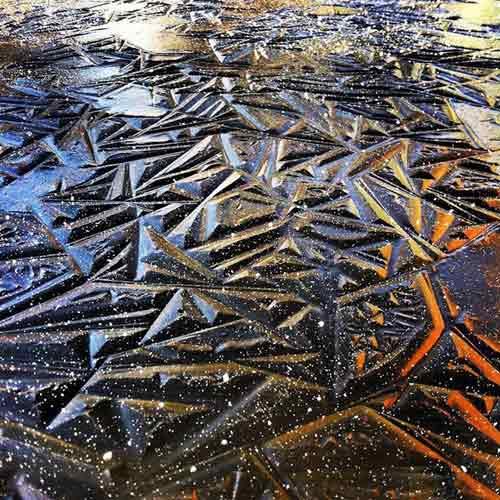Kỳ vĩ của những hồ nước đóng băng trên thế giới - 5