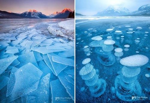 Kỳ vĩ của những hồ nước đóng băng trên thế giới - 6