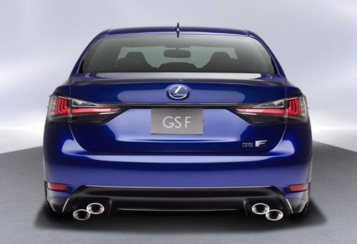 Lexus GS F 2016 lộ diện, công suất 467 mã lực - 3