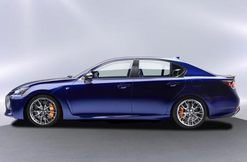Lexus GS F 2016 lộ diện, công suất 467 mã lực - 5