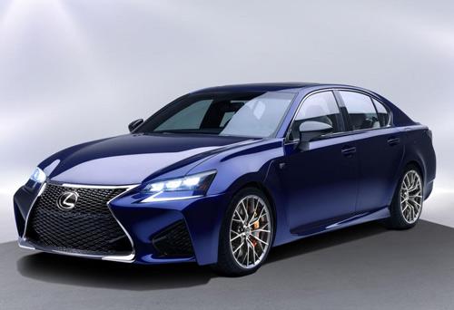 Lexus GS F 2016 lộ diện, công suất 467 mã lực - 1